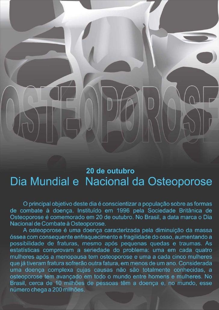 20/10 - Dia da Osteoporose