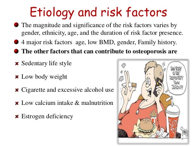 what is the etiology of osteoporosis