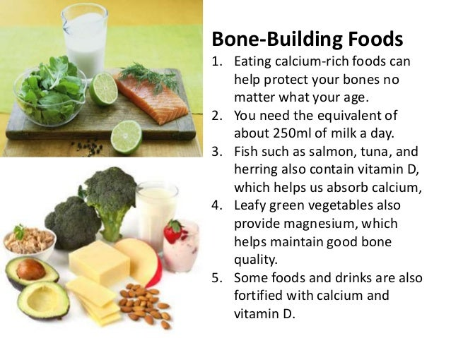Foods To Eat To Fight Osteoporosis