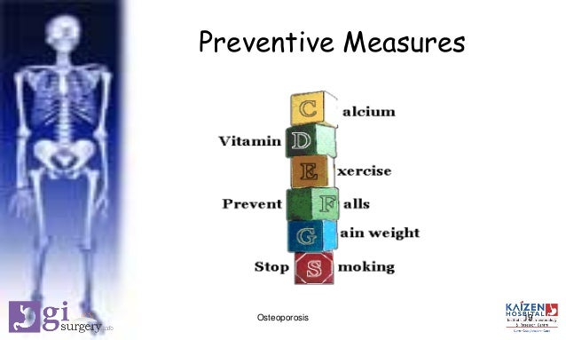 Osteoporosis Preventive Measures