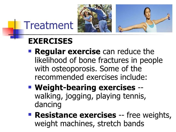 exercise prevents osteoporosis essay It is important to assess your level of risk of low bone mass early in life in order to prevent osteoporosis and bone exercise with hand-held weights or.
