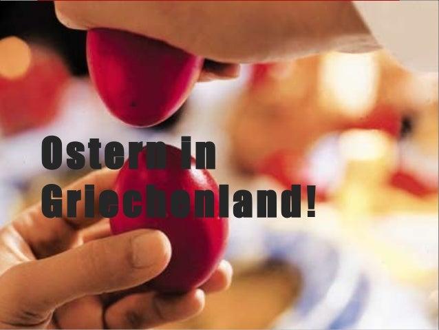 Ostern inGriechenland!