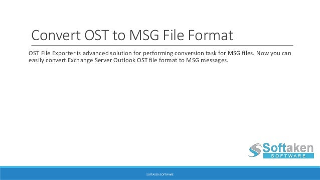 Ost File Exporter To Export Ost To Pst