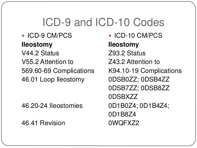 Coding Ostomies In Icd 9 Icd 10