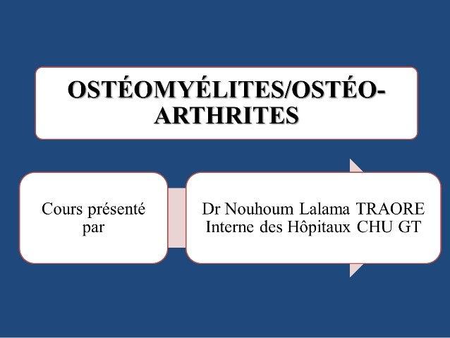 1) Énumérer les facteurs favorisants la survenue d'une ostéomyélite aiguë (OMA) 2) Décrire les signes cliniques et radiolo...