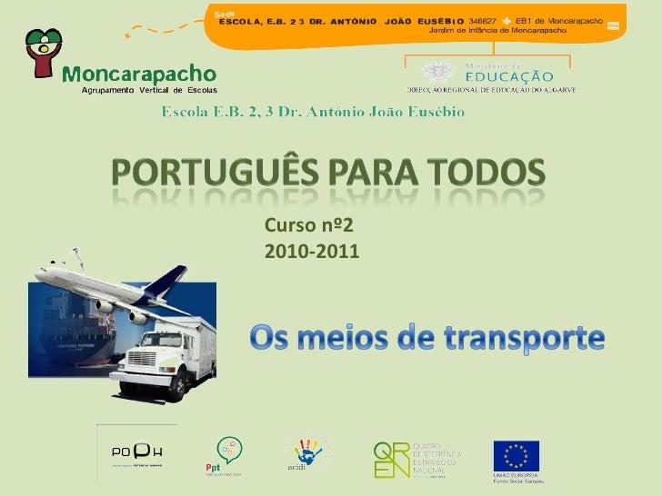 Curso nº2  2010-2011