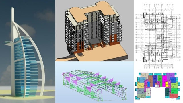 Modeling architectural buildings in Revit and Robot
