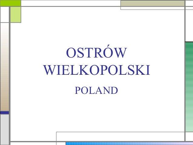 OSTRÓWWIELKOPOLSKI   POLAND
