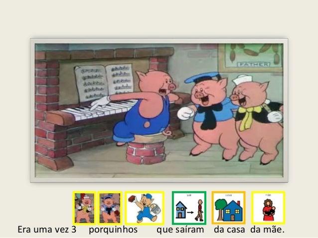 Os três porquinhos Slide 2