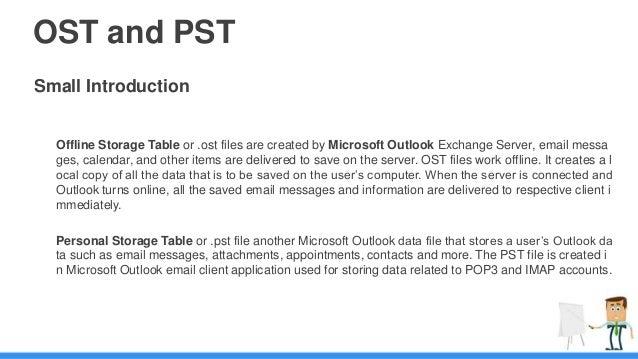 OST to PST Converter Slide 2
