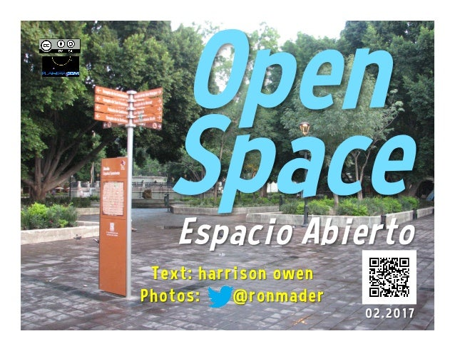 Open Space Technology (OST) is a creative re-imagining of relationships. It is the methodology we use and it is the ideal ...
