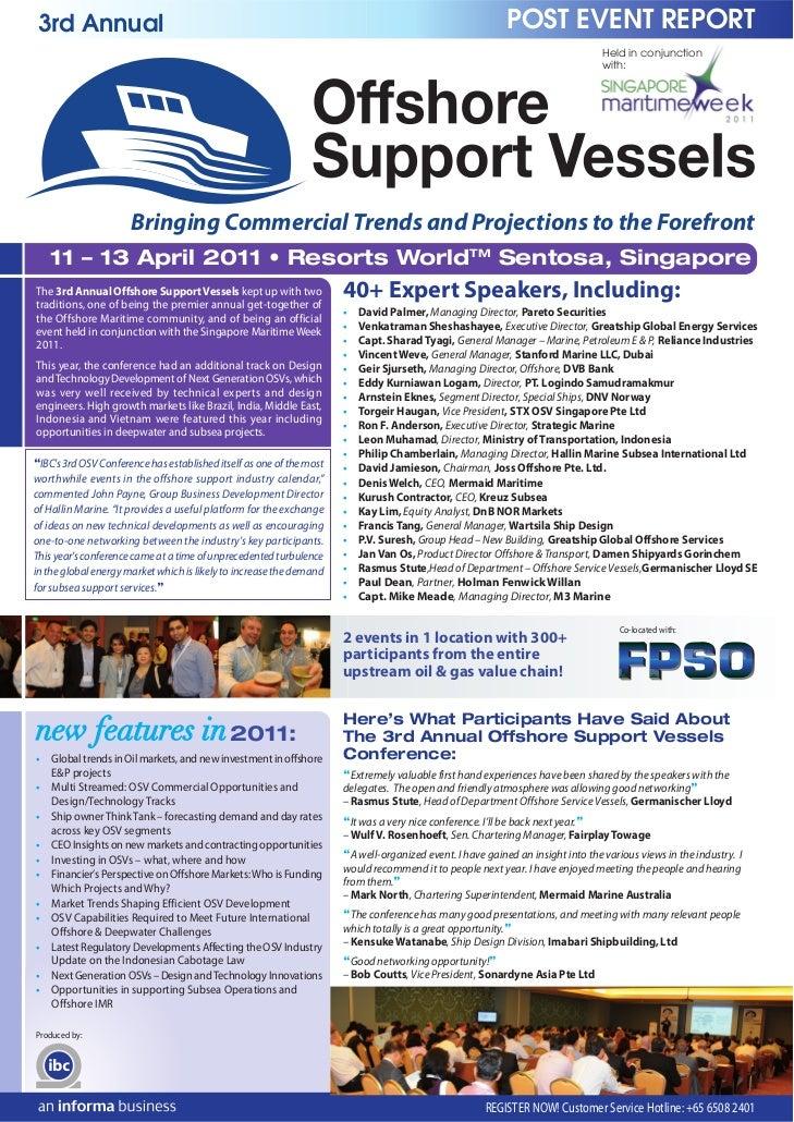 3rd Annual                                                                                                POST EVENT REPOR...