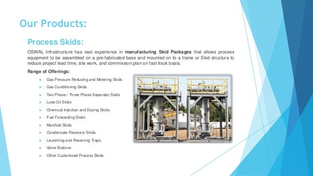Modular Skid Packages & Process Equipment - OSWAL