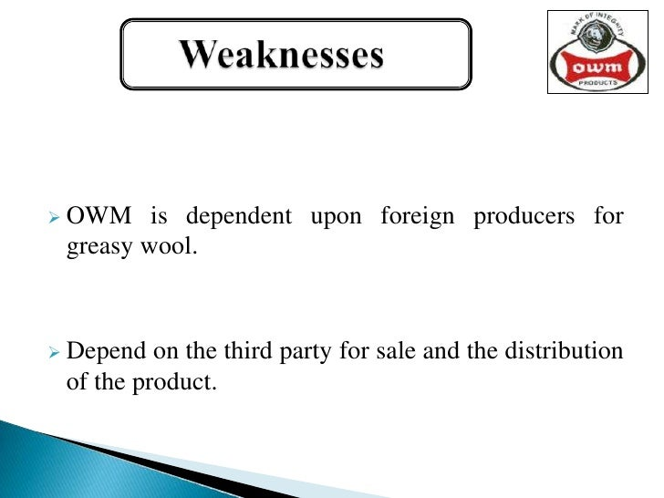 swot analysis on vardhman textiles Sachit jain, vardhman group, 2010) indian textile industry is one of the leading  industries of indian economy and has important place in.