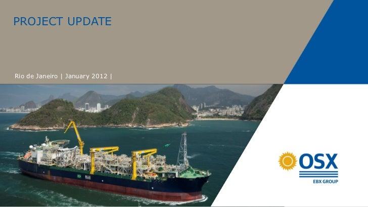 PROJECT UPDATERio de Janeiro | January 2012 |