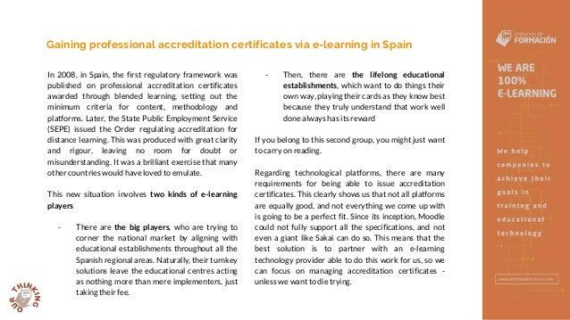 Spanish Professional accreditation certificates - Entornos de Formación Slide 2