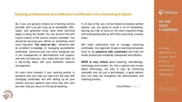 Spanish Professional accreditation certificates - Entornos de Formación Slide 3