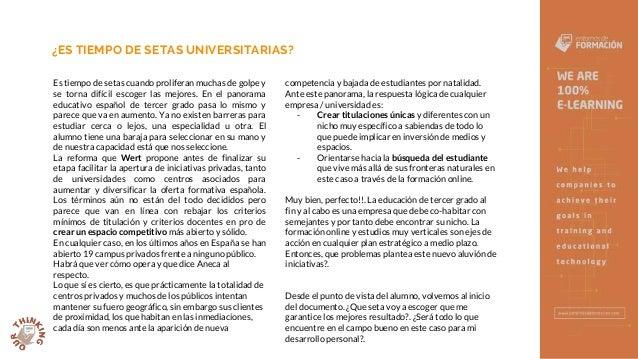 Setas Universitarias - Entornos de Formación Slide 2