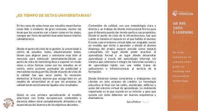 Setas Universitarias - Entornos de Formación Slide 3