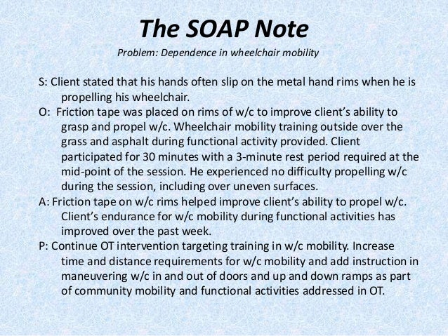12 the soap note