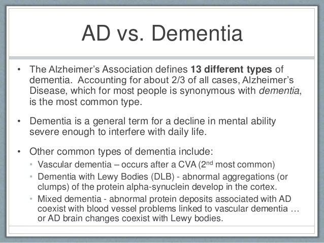 OT 537 dementia