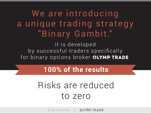Binary options trading risks