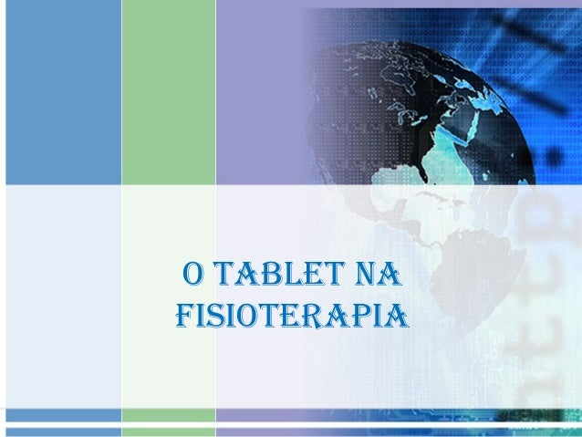 O TABLET NA FISIOTERAPIA