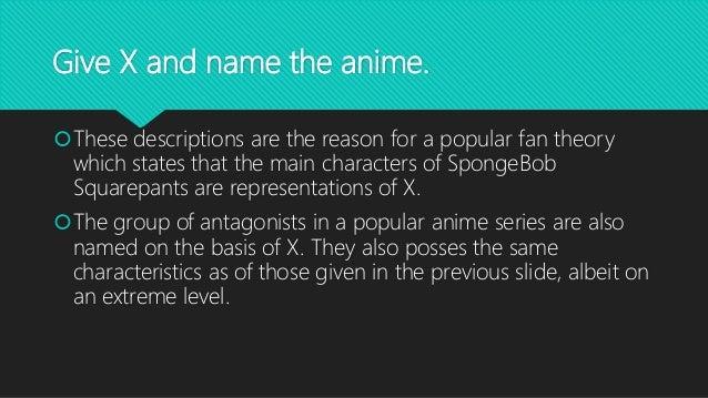 Anime COmics Cartoons Quiz