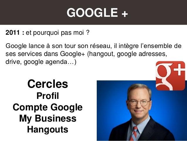GOOGLE + 2011 : et pourquoi pas moi ? Google lance à son tour son réseau, il intègre l'ensemble de ses services dans Googl...