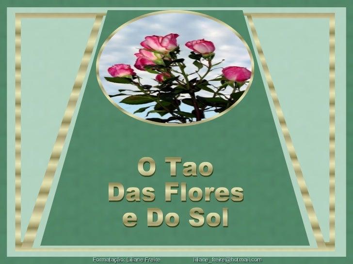 O Tao Das Flores e Do Sol