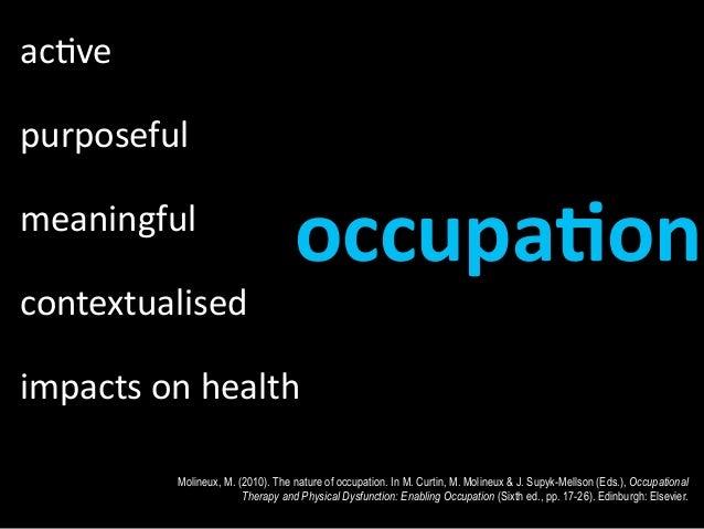 Image result for Occupation based practice
