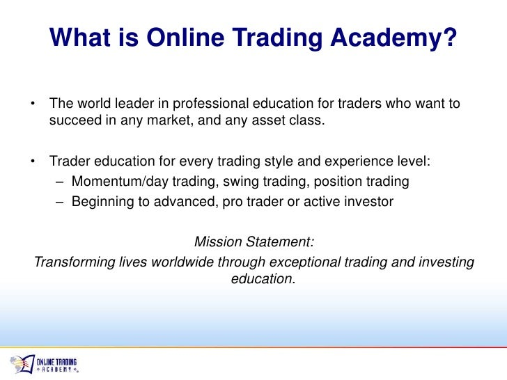 Online options trading companies