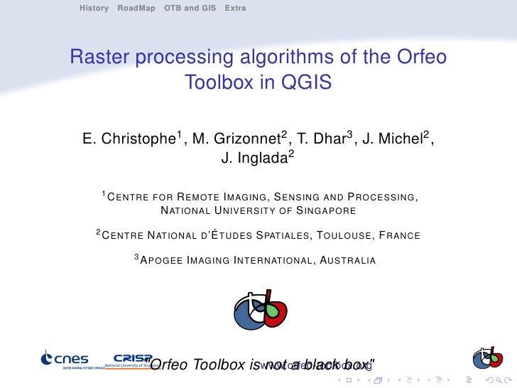 OTB-FOSS4G-2010