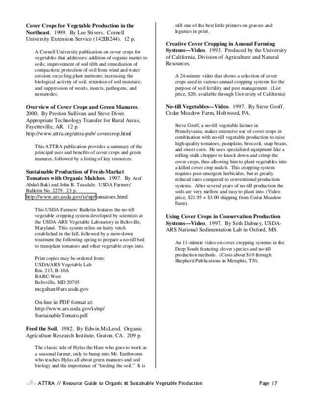 buckwheat cover crop handbook