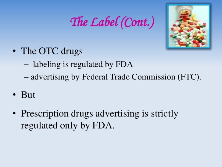 OTC drug regulation• May 1972, before & after.• Ingredients fell into three categories.     Category I: GRASE     Catego...