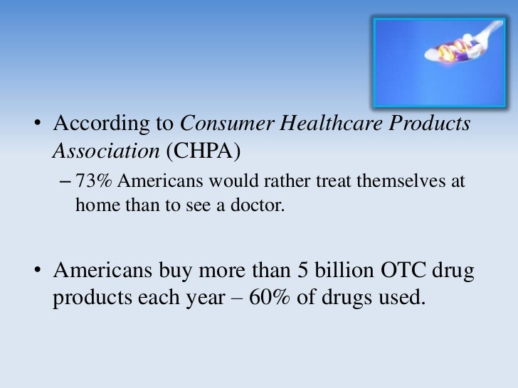 Advantages of OTC Drugs• benefits outweigh risks• low misuse & abuse potential• consumers are able to  Self diagnose  Se...