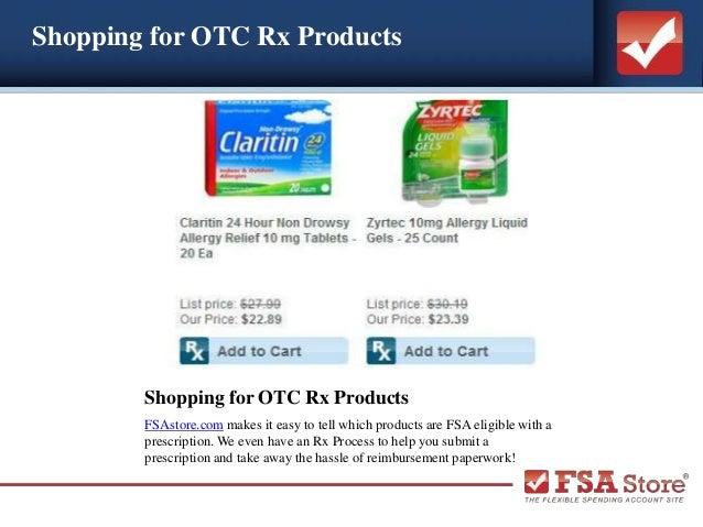 Flexible Spending Account: Prescription Requirement
