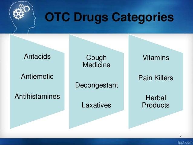 over the counter drugs vs prescription drugs