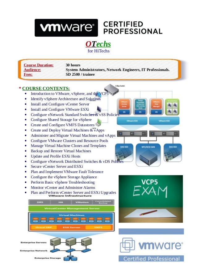 OTechs for HiTechs Course Duration: 30 hours Audience: System Administrators, Network Engineers, IT Professionals. Fees: S...