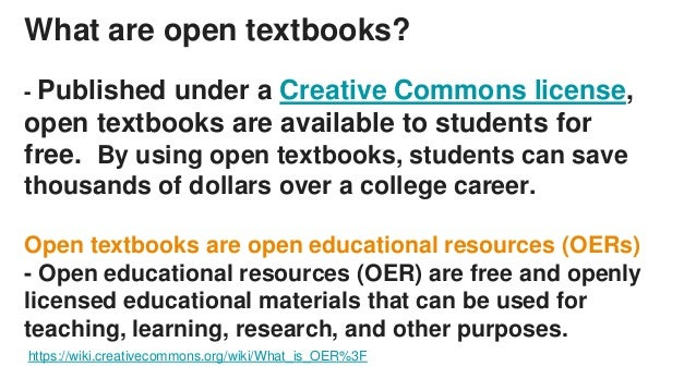 Open Textbook Initiative & Library Textbook Affordability Program Slide 2