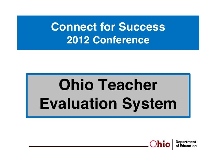 Otes Teacher Evaluation Teacher Login: Ohio Teacher Evaluation System,