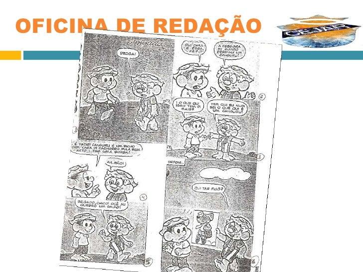 OFICINA DE REDAÇÃO