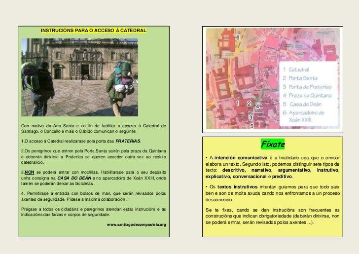 INSTRUCIÓNS PARA O ACCESO Á CATEDRALCon motivo do Ano Santo e co fin de facilitar o acceso á Catedral deSantiago, o Concel...