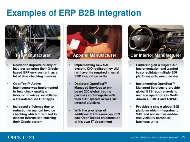 How b2b completes erp customer examples of erpb2b integration 22 sciox Choice Image
