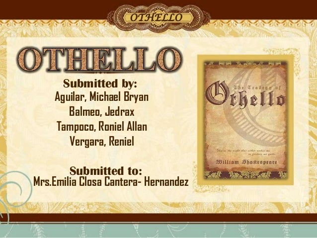 a study of the potency of evil in shakespeares othello Shakespeare's works online: standard online editions of most of shakespeare's works, including othello, are available from the mit shakespeare homepage, a link on the.