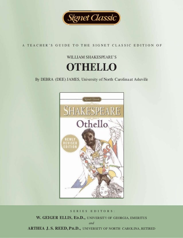 an essay on william shakespeares play othello Story of othello by shakespeare othello: the play othello is a tragic shakespearian play which was written around the year 1603 and was based on a sixteenth century italian story titled un captiano moro which means 'a moorish captain.