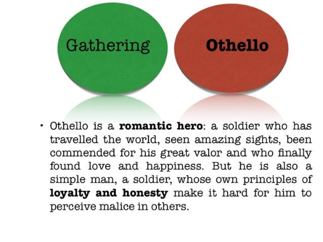"othello characters essay Theodore spencer wrote of shakespeare's othello, ""in presenting the character  of othello to his audience, shakespeare emphasizes very strongly his."