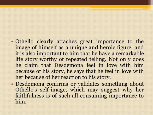 Othello story racist Term paper Sample - July 2019