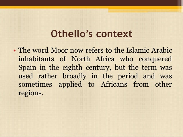 racism in othello by shakespear essay