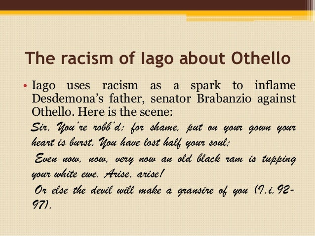 Othello and racism 2 essay